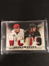 2012-13 Panini Prime Duals Pavel Datsyuk Brent Seabrook /50 Patch Blackhawks