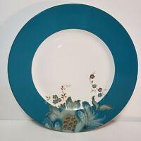 """222 Fifth Eliza Teal 11"""" Porcelain Dinner Plates Set Of 4"""