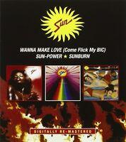 The Sun - Wanna Make Love /Sun-Power/Sunburn [New CD] UK - Import