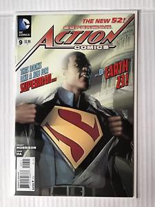 ACTION COMICS # 9 SECOND APPEARANCE CALVIN ELLIS NEW 52 FIRST PRINT DC COMICS