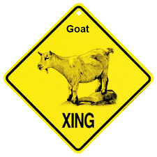 Goat xing crossing Sign Made in USA by KC Creations