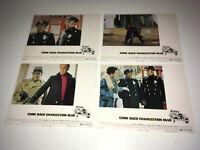 COME BACK CHARLESTON BLUE Movie Lobby Card Posters Blaxploitation St Jacques