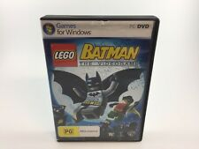 LEGO® BATMAN™ THE VIDEOGAME | PC DVD ROM | COMPLETE
