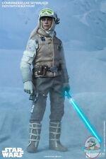 1/6 Scale Star Wars Commander Luke Skywalker Hoth Sideshow Used JC