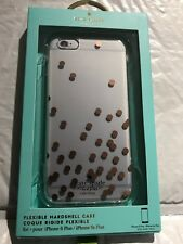 kate spade new york - Hard Shell Case for iPhone 6 Plus & 6s Plus-Rose Gold/Dots