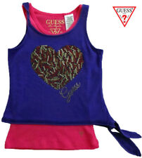 NWT GUESS Toddler Girls Purple & Pink Two Piece Layered Top(Size 2T) MSRP$34.50