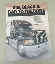 Mack Truck Bulldog 1992 Advertising Sales Brochure Big Dog CL600 500 Horsepower