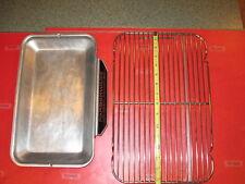Farberware drip pan tray & wire grill rack Open Hearth Rotisserie 450 450A 454