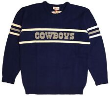 MITCHELL AND NESS NFL DALLAS COWBOYS KNITTED SWEATER - Blue Grey (MEN S ... bbbb2fbe7