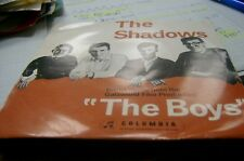 rare oz ep the shadows the boys 4 tracks picture sleeve plays very well