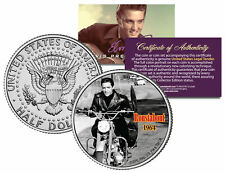 ELVIS PRESLEY - MOVIE * Roustabout * JFK Kennedy Half Dollar US Coin *LICENSED*