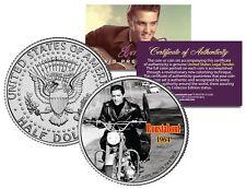 Elvis Presley - Movie * Roustabout * Jfk Kennedy Half Dollar Us Coin *Licensed*