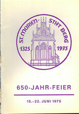 Brasse, Festschrift 650 Jahre St. Marien-Stift Berg, Marienkirche, Herford 1975