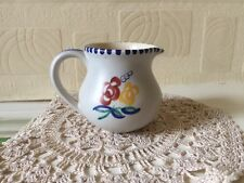 Vintage Poole Pottery Jug Small Traditional Floral Early 1960s England