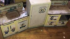 Wolverine Stove Sink Kitchen Disney Snow White Vintage Metal Kitchen Set!