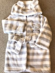 Unisex Dressing Gown 6-9 Months Tatty Teddy VGC