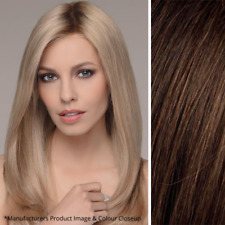 Imperfect ellen wille Emotion Wig - Lace - 100% Human Hair - Color Dark Chocolat