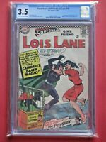 Superman's Girlfriend Lois Lane 70 CGC 3.5  Movie. First SA Catwoman appearance