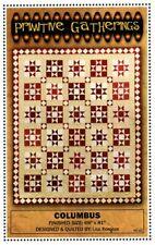 "Columbus Quilt Pattern by Lisa Bongean for Primitive Gatherings 69"" X 81"""