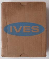 Ives door coordinator, 469 B10, for wood doors, bronze finish, new (other).