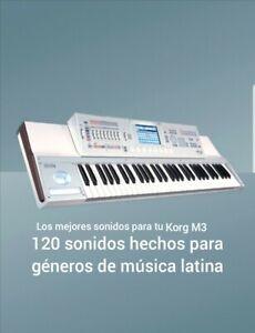 KORG M3 samples paquete de 120 sonidos
