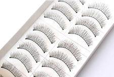 Best 10X Makeup Handmade Natural Long False Eyelashes Eye Lashes Sparse GD