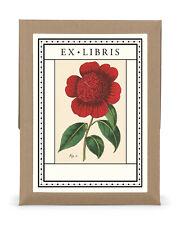 Cavallini & Co. Botanica EX Libris Bookplate Set