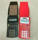 Texas Instruments Business BA II Plus& Red TI 30XS II S Scientific Calculators
