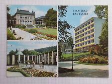 AK Staatsbad Bad Elster Ansichtskarte DDR 1972 gelaufen Mehrbild - AK