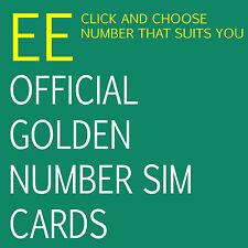 EE VIP GOLDEN Number .oc18