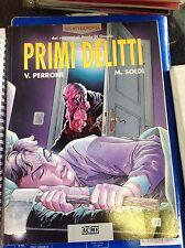 Fumetto Splatter Novel Primi Delitti DISCRETO!!
