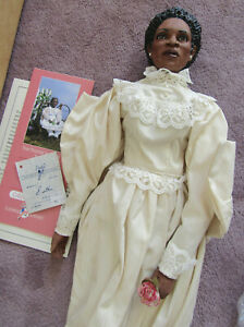 Daddys Long Legs Doll, Esther, 1993 limited edition signed and dated, w/tag, COA