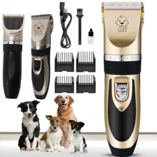 More details for pet shave clipper hair mute cordless electric dog cat grooming trimming kit nail