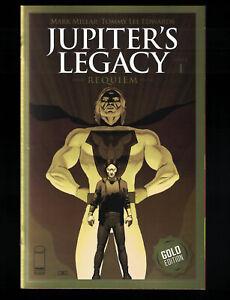 Jupiter's Legacy Requiem  #1 Image 2021 Thank You 1 Per Store Gold Foil Variant