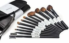 Professional Studio Quality 12 Piece Natural Cosmetic Makeup Brush Brushes