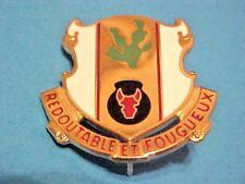 Us Military 185th Regiment Pin Clutchback Crest Medal Badge Dui Di Insignia S400