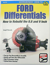 "SA249 Ford Differentials How To Rebuild 8.8"" & 9"" Rear Ends Set Up Gears Ratio"