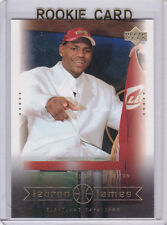 LEBRON JAMES ROOKIE CARD #1 Draft Pick Basketball RC Upper Deck CAVS Miami Heat