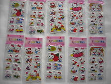 10 Sheets Stickers Cartoon Scrapbooking Fitter Children Loot Bags  Hello Kitty