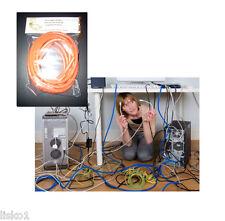 Cord Detangler Computer Phone cord The Original Monkey Cord   (ORANGE)