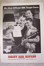 DAISY AIR RIFLE VINTAGE AD 1951