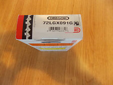 """1 72LGX091G 28"""" Oregon chisel chainsaw chain 3/8 .050 91 DL replaces 33RS 91"""
