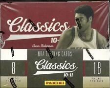 2010-11 Panini Classics Factory Sealed NBA Hobby Box  John Wall  RC ?