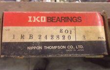 IRB242820 IKO New Bearings 3/box 21 Bearing Lot!!!