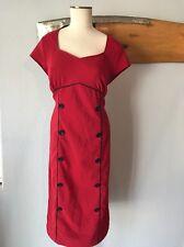 Folter Retrolicious  Modcloth Sz XL Pin Up Rockabilly Dress 1950's Dress i34