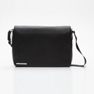 Porsche Design 100 % Leder Umhängetasche Messenger Bag Tasche Laptoptasche