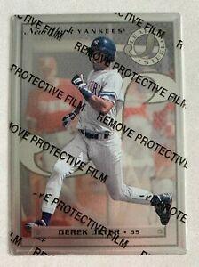 MLB DEREK JETER New York Yankees 1996 LEAF STEEL ROOKIE Trading CARD #40