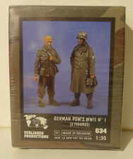 VERLINDEN  REFERENCE 634 GERMAN POW'S WWII  1/35