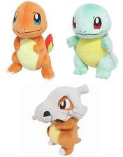 NEW Pokemon Plush Dolls PP18 Charmander/PP19 Squirtle/PP38 Cubone Sanei Set of 3