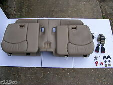 Mercedes Jump Seats Complete Rear 06 - Beige | R129 SL Facelift W/ Fixing Kit